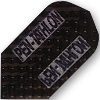 Dart World Pentathlon Dimplex Black Slim