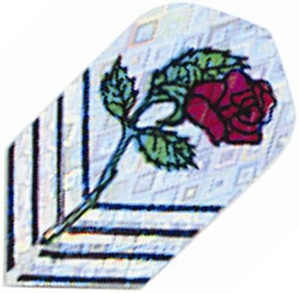 GLD 2D Glitter Red Rose Slim
