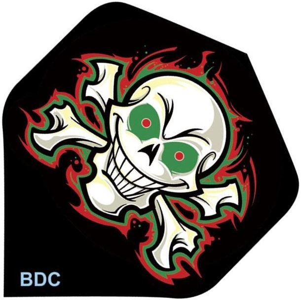 Bottelsen Skull and Crossbones Tattoo Flight Standard